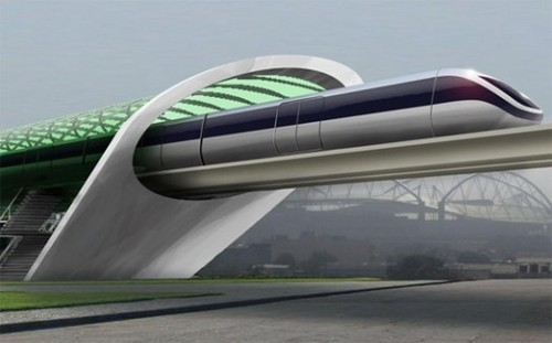 Hyperloop concept art