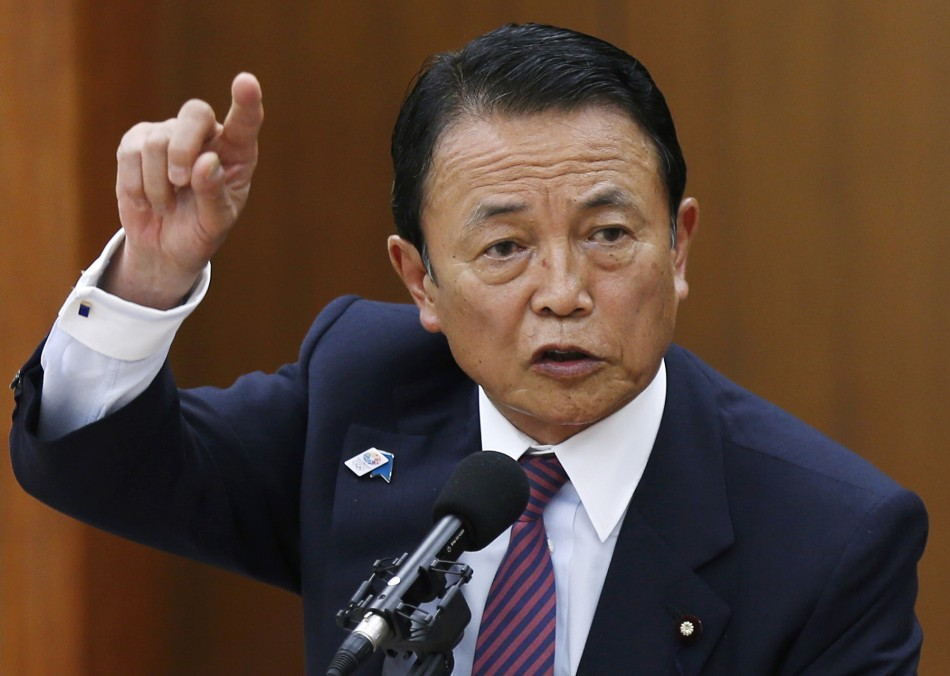 Taro Aso Japan Nazi
