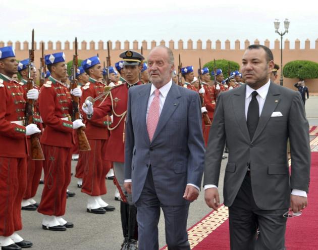 Morocco King Mohamed VI Juan Carlos paedo