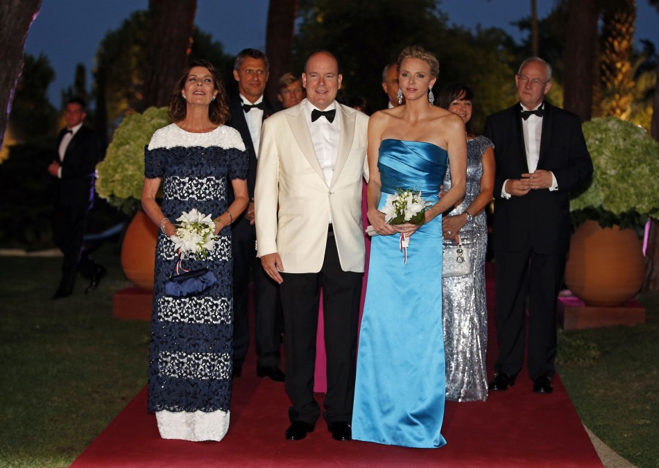 Princess Charlene Attends Red Cross Gala in Monte Carlo