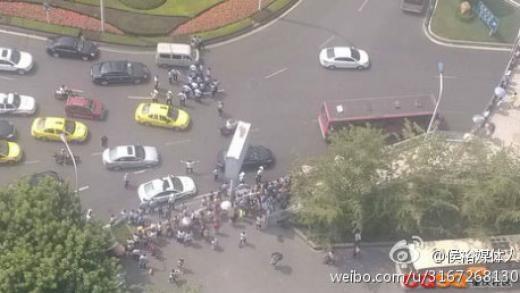 Protesters roadblock