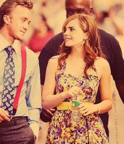 Was There Already Something Between Emma Watson And Tom Felton During Childhood