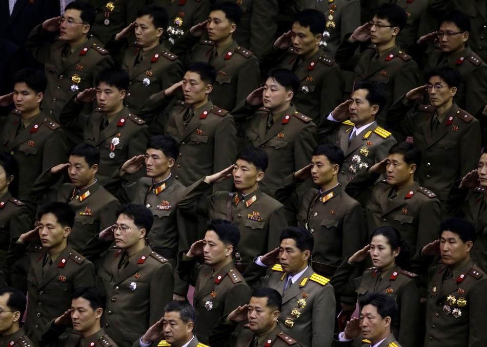 North Korea's troop redeployment