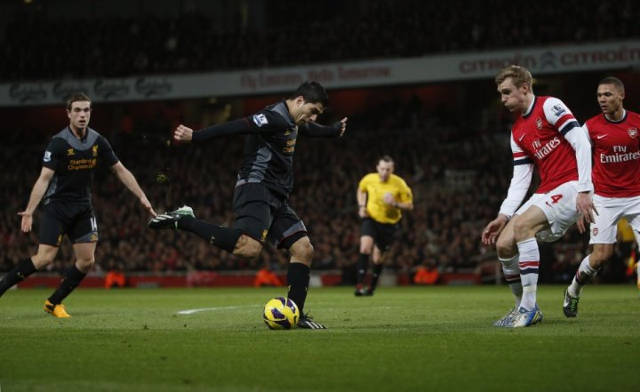 Luis Suarez could join the ranks at Arsenal this month