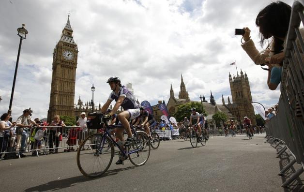 London mass cycle ride