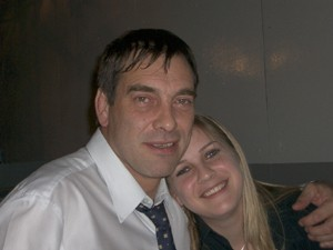 Tony Nicklinson and Lauren Nicklinson in 2003 (Photo: Lauren Nicklinson)