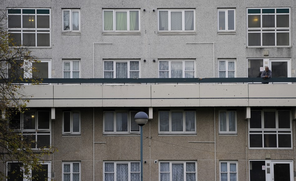 Broadwater Farm estate in Tottenham suffers chronic deprivation