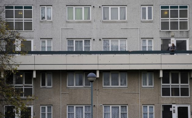 Broadwater Farm estate in Tottenham suffers chronic deprivation