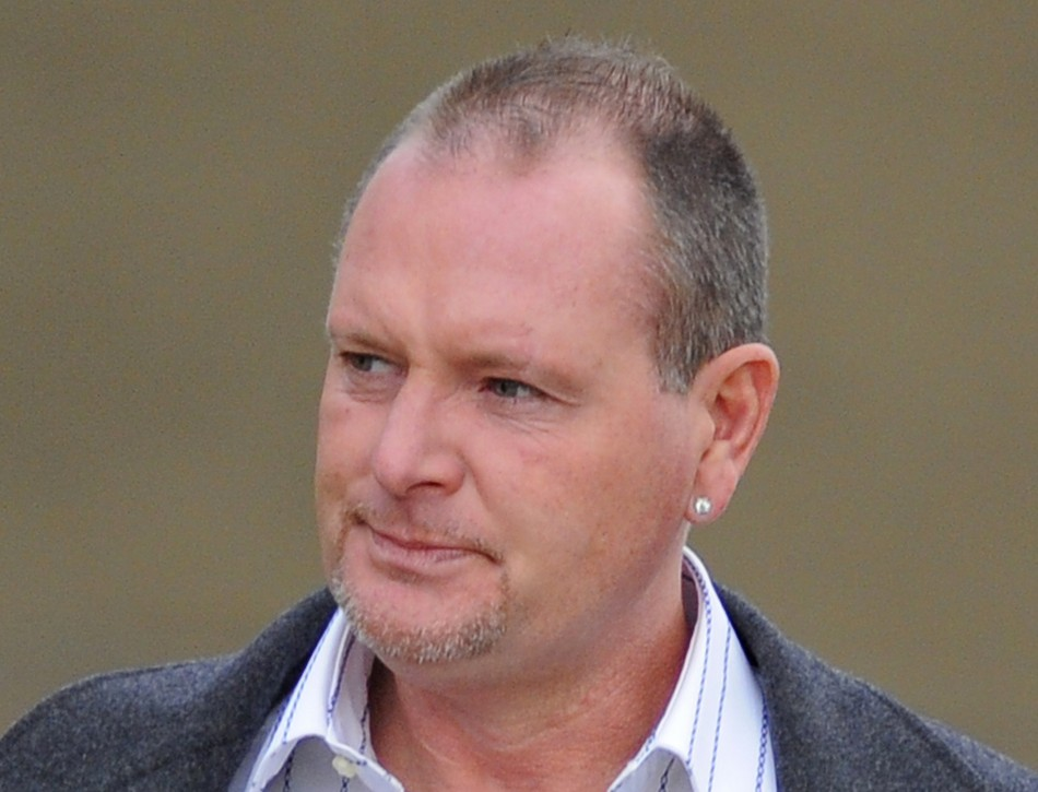 Paul Gascoigne was arrested following the incident at Stevenage rail station