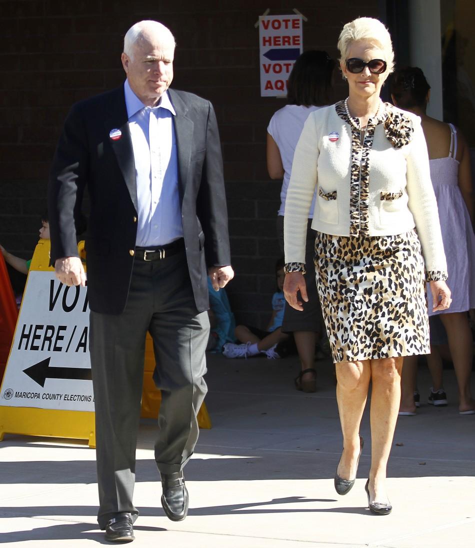 5. Cindy McCain