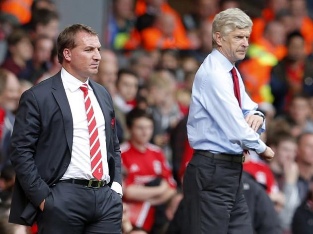 Brendan Rodgers-Arsene Wenger