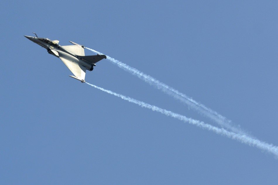 A Dassault Rafale combat aircraft, which has been selected by the Indian Air Force for purchase