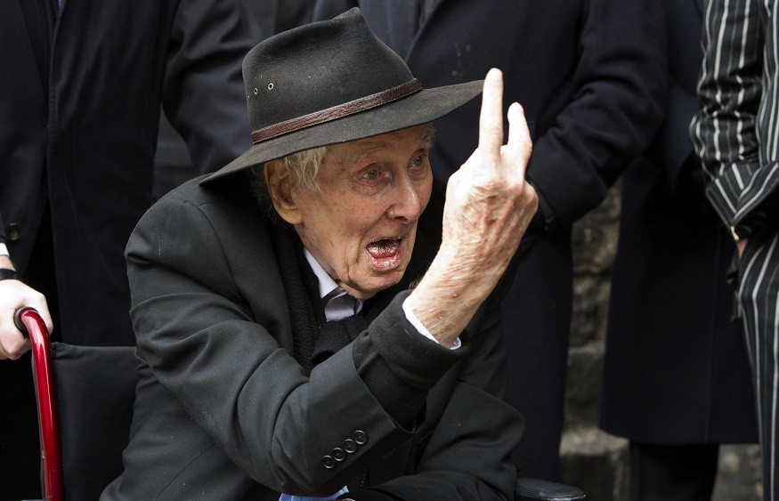 Defiant as ever: Ronnie Biggs in 2011