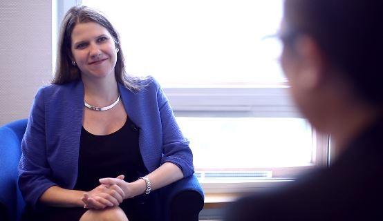 Jo Swinson speaks exclusively to IBTimes UK (Photo: IBTimes UK)