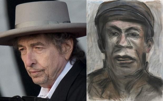 Bob Dylan artwork