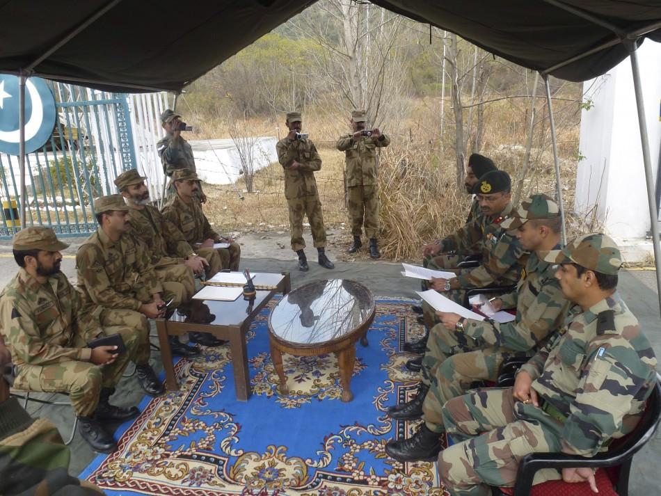 India-Pakistan Kashmir tensions