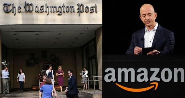 Washington Post Sold to Amazon Founder Jeff Bezos