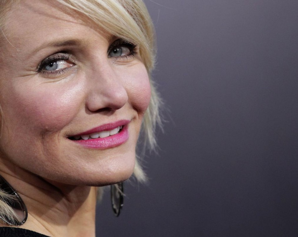 Hollywood Actress Cameron Diaz: