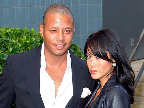 Terrance Howard and Michelle Ghent