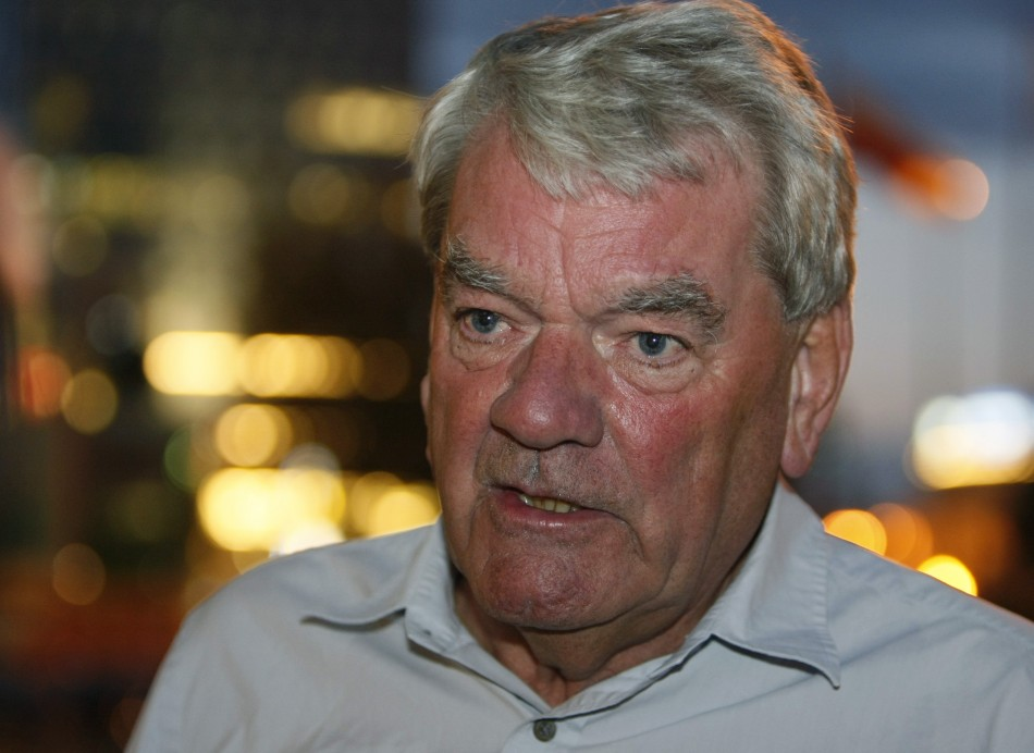 Historian David Irving, whose views on the Holocaust landed him in jail