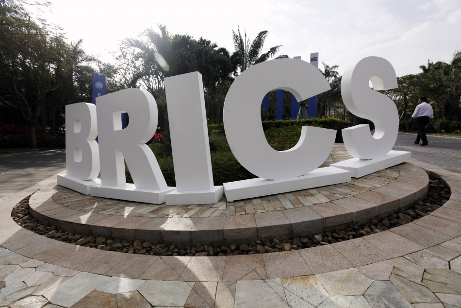 Emerging economies contract as developed ones expand