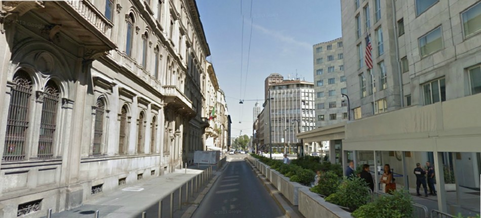 US consulate Milan evacuated