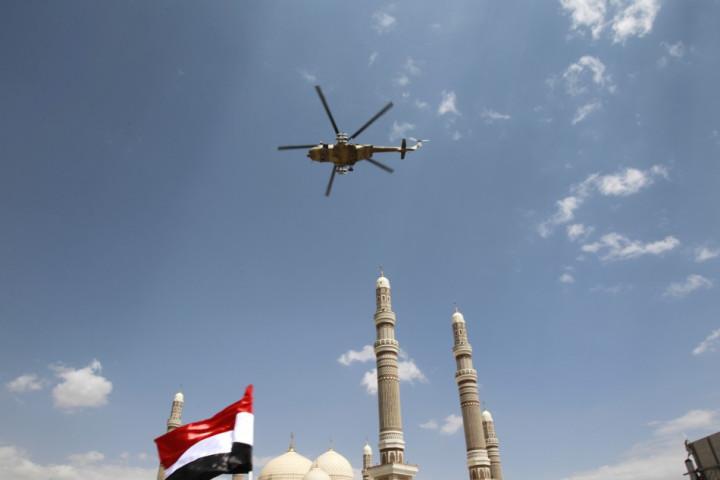 helicopter Yemen