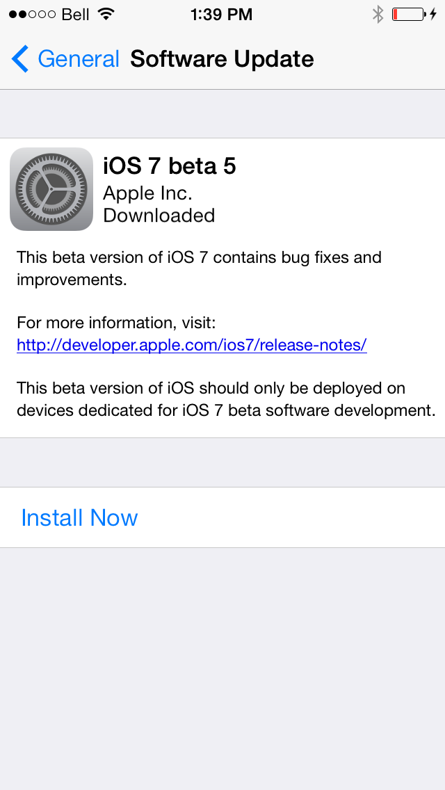 How to Install iOS 7 Beta 5 Without UDID or Developer