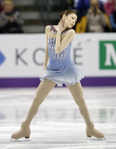 6. Kim Yuna, Skating