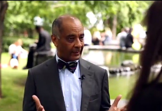 Ken Olisa, Chairman of Restoration Partners talks to IBTimes UK about the challenges tech SMEs face when finding financing (Photo: IBTimes UK)