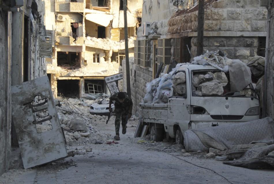 Syrian rebels ambush