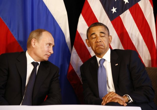 Obama and Putin No Go