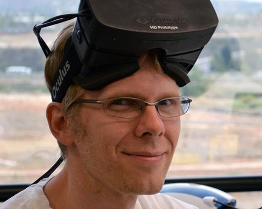 John Carmack ID software Joins Oculus Rift