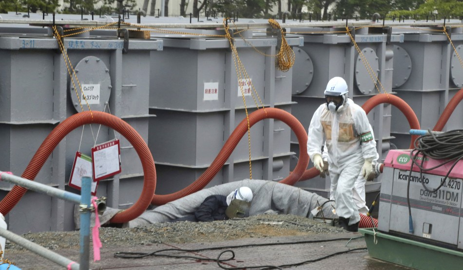 The Japanese government will help Tepco plug the Fukushima leak