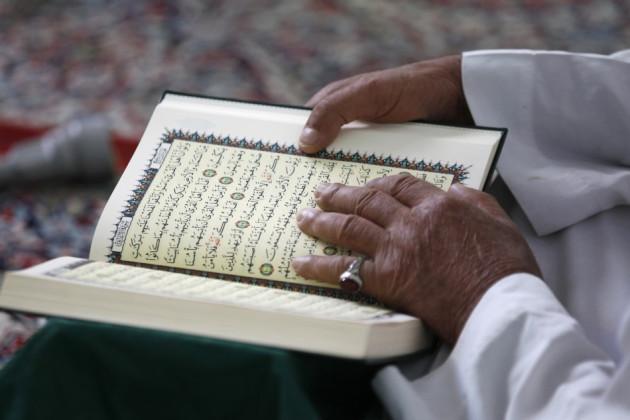 Some muslims read the whole of the Koran durin Ramadan