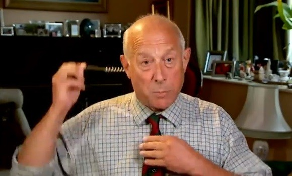 It's a wrap: Godfrey Bloom storms off Channel 4 news