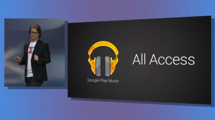 Google Play Music All Access Launched in UK