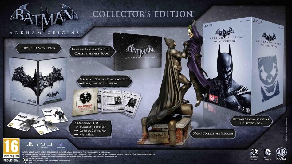 Batman: Arkham Origins Collector's Edition (Credit: Amazon UK)