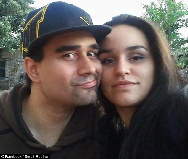 Miami Man Derek Medina and wife, Jennifer