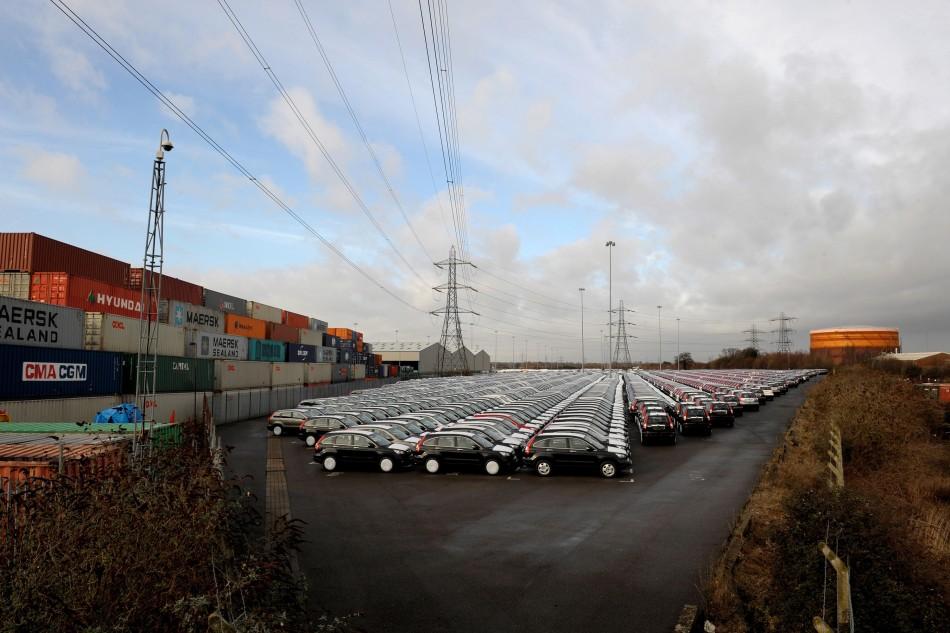 UK trade goods exports