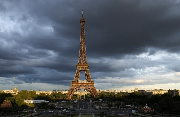 The Eiffel Tower is often the subject of bomb scares (Reuters)