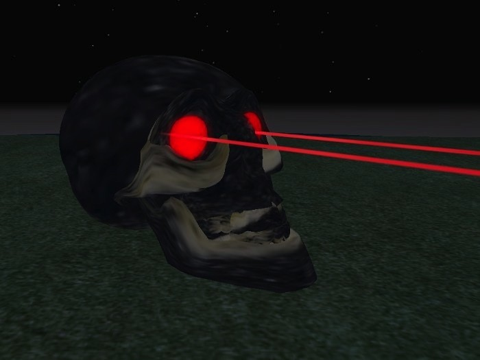 A laser pulse perfected by scientists can predict how many years a person has left to live. (marketplace.secondlife.com)