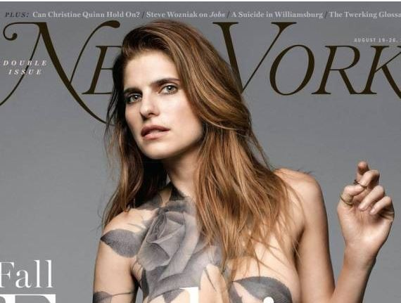 Lake Bell poses completely naked for the latest issue of New York magazine.