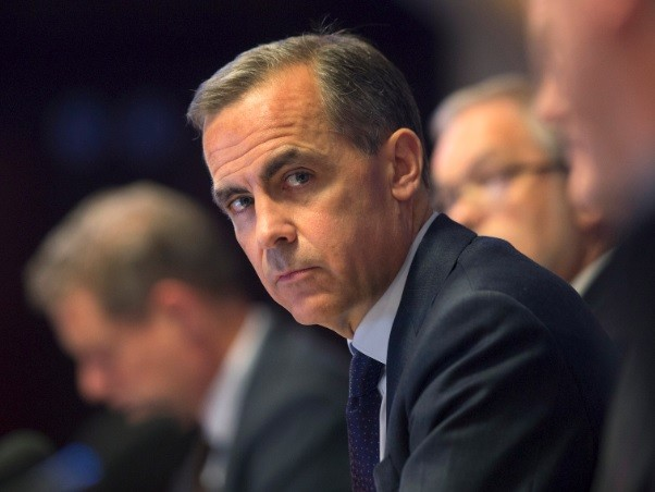 Bank of England governor Mark Carney broke with BoE tradition at the quarterly inflation report news conference by revealing that forward guidance is pegged to UK unemployment levels (Photo: Reuters)