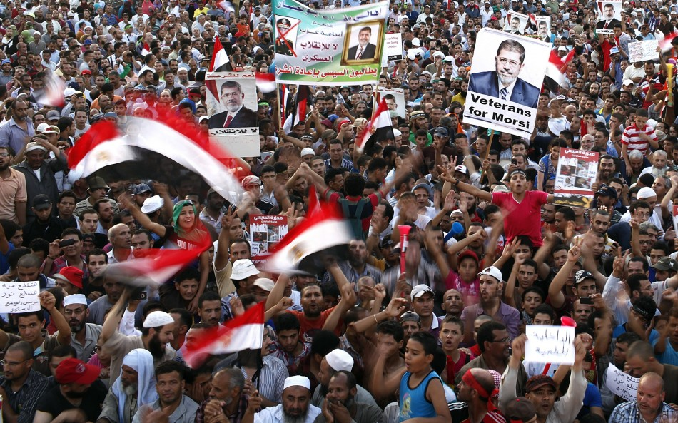 Egyptian forces to crackdown on pro-Morsi supporters in Cairo