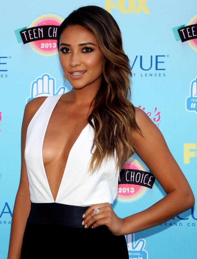 Actress Shay Mitchell from the TV series