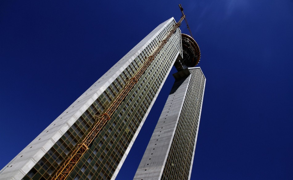 The InTempo apartment's architecture has a major flaw - it has lifts only for up to 20 floors.(Photo: Reuters)