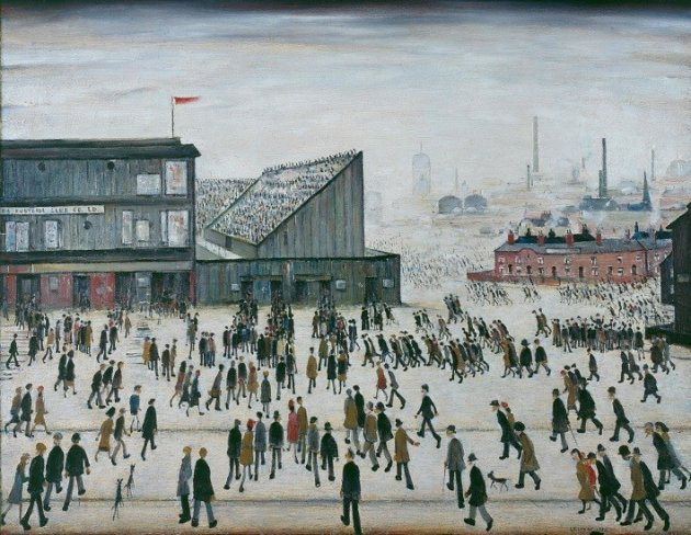 LS Lowry Going to the Match