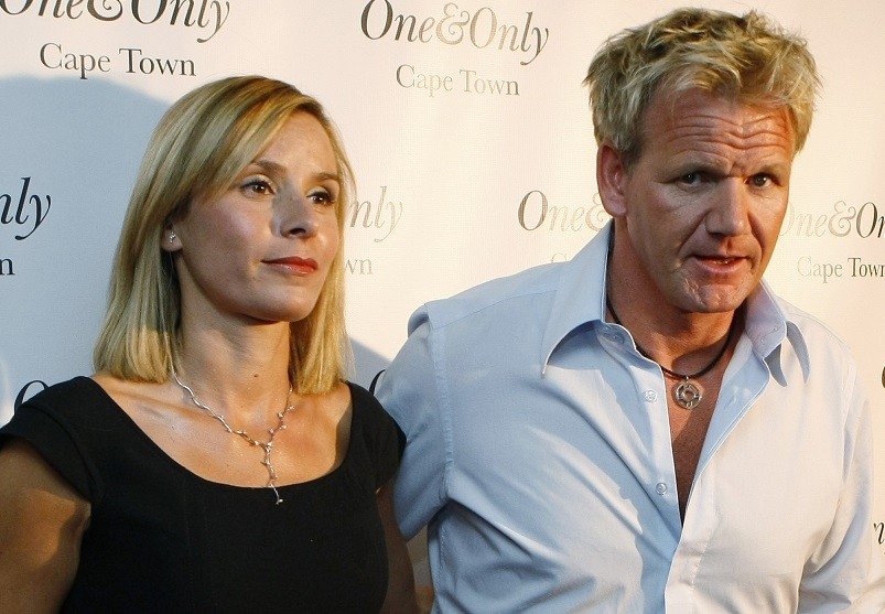 Gordon Ramsay and wife Cayetana (R)