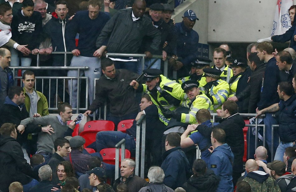 More than 2,700 supports are banned from attending games across the 92 league clubs (Reuters)